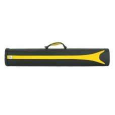 Billiard Cue Hard Case Expert EX-2, black-yellow, 2/4, 85cm